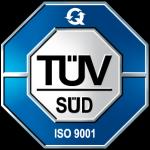 TÜV Zertifikat ISO 9001